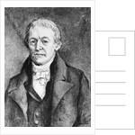 Portrait of Jean Baptiste Lamarck by Corbis