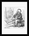 Victor Emmanuel Putting on Boot of Italy by Corbis
