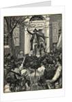 Illustration of Alexander Hamilton Addressing a Mob by Corbis