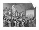 John Charles Fremont Raising Flag by Corbis
