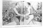 Champion and Ex-Champion Cheered Print by Corbis