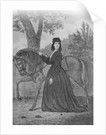 Emma Edmonds Standing with Horse by Corbis