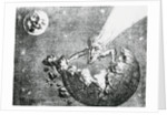 Perception of Earth and Comet Encounter from 1857 by Corbis