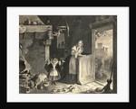 Cinderella with Fairy Godmother in Kitchen by Corbis