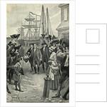 Illustration of Benjamin Franklin's Return to Philadelphia by Benjamin West Clinedinst
