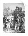 Alexander The Great After Conquering Porus by Corbis