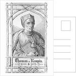 Thomas a Kempis Print by Corbis