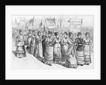 Women Favoring Polygamy by Corbis