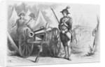 Illustration of Deborah Samson Dressed as a Man by Corbis