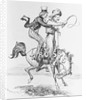 Bronco Billy with Galloping Horse by Corbis
