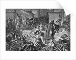 Babylonian Revellers Receiving Warning by Corbis