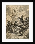 Illustration of the Battle of the Nile by Corbis
