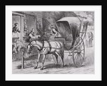 New Country Doctor Arriving in Town by Wagon by Corbis