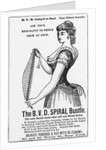 Clothing Advertisement from 1800s by Corbis
