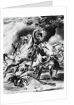 Print Depicting the Death of Tecumseh by Corbis