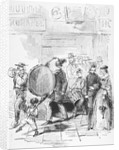 Woodcut of the Confederate Army Recruiting by Corbis