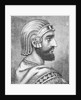 Engraving of Cyrus the Great by Corbis