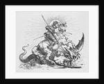 Saint George Slaying Dragon by Corbis