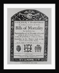 Display of the Bills of Morality Titlepage by Corbis