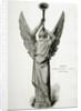Herald Angel Blowing Trumpet Towards Heaven by Corbis