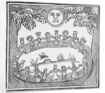 Illustration Of A Witch Dance by Corbis