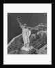 Aerial View of Statue of Liberty from Helicopter by Corbis