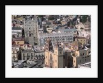 Aerial View of University and Church by Corbis