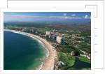 Aerial of Ixtapa Oceanfront by Corbis