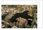 Aerial of Xochimilco Floating Gardens by Corbis