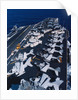 Aircrafts Aboard the USS Abraham Lincoln by Corbis