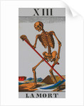 Tarot Card Depicting Death by Corbis