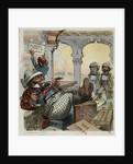 Political Cartoon on England's Domination of Egypt by Corbis