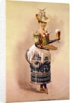 Waitress with Beer and Pretzels by Corbis