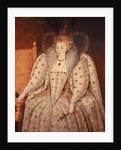 Portrait of Queen Elizabeth I by Corbis