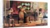 Blacksmith Shop Scene by Corbis