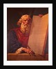 Moses with Ten Commandments by D.C. Fabronius