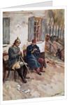 Napoleon III and Bismarck in Conversation by Corbis
