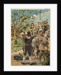 William Tell Aiming a Rifle by Corbis