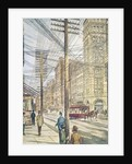 Disorderly Wires on Broadway by Corbis