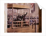 Abraham Lincoln Taking Oath by Corbis