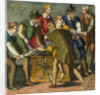 Physician and Assistants during Early History Leg Amputation by Corbis