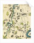 Map of Battlefield at Antietam by Corbis