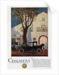 Chalmers Limousine Landaulet Automobile by Corbis