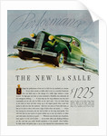 Advertisement for the New LaSalle Automobile by Corbis