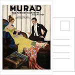 Man in Tuxedo Smoking Murad Cigarette by Corbis