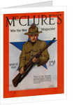 1918 McClure's Magazine Cover by Neysa McMein