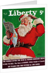 Cover of Magazine with a Confused Santa Claus by Corbis