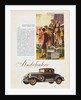 1929 Studebaker Advertisement by Corbis