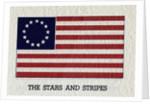 Illustration of Original American Flag by Corbis