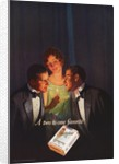 Advertisement for Chesterfield Cigarettes by Corbis